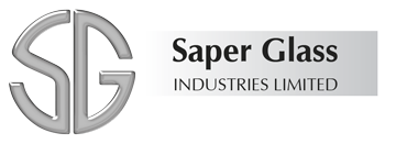 Website Design Portfolio - Saper Glass Logo